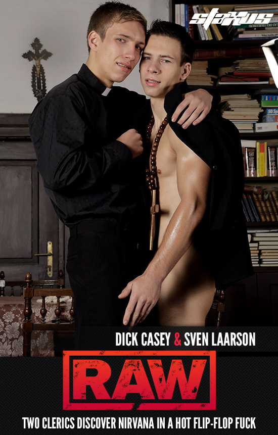 Dick Casey and Sven Laarson bareback