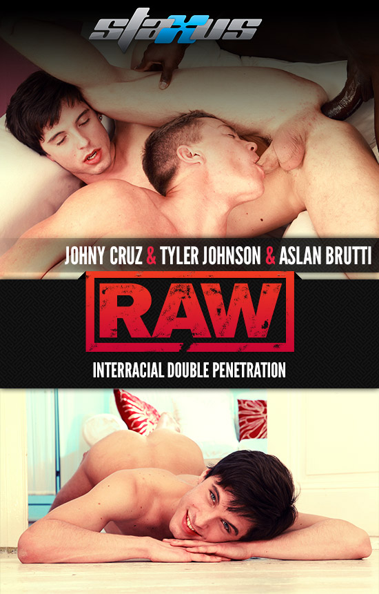 Johny Cruz, Tyler Johnson and Aslan Brutti