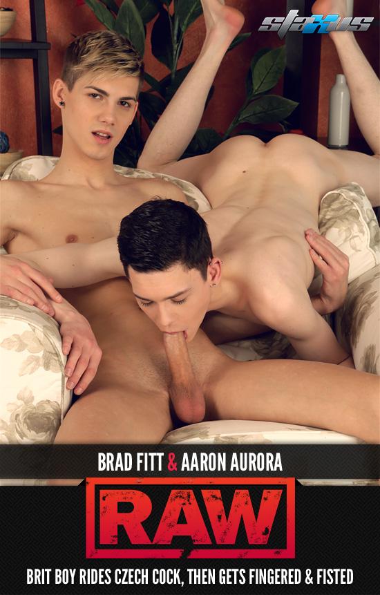 Brad Fitt fucks Aaron Aurora